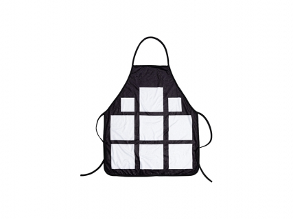 "Sublimation 9 Panel Plush Apron (65*72cm/25.59""x28.35"")"
