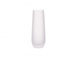 Sublimation 10oz/300ml Stemless Champagne Flutes Glass (Frosted)