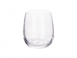 Sublimation 10oz/300ml Stemless Wine Glass (Clear)