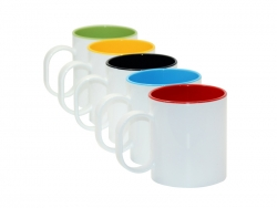 11oz Sublimation Polymer Two-Tone Mug
