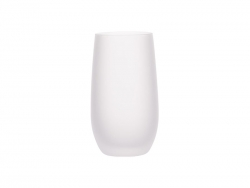 Sublimation 13oz/400ml Stemless Wine Glass (Frosted)