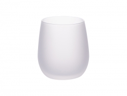 Sublimation 10oz/300ml Stemless Wine Glass (Frosted)