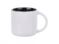 Sublimation 14oz Two-Tone Color Mug (Black)