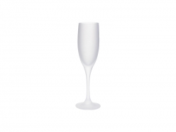 Sublimation 6oz/190ml Champagne Flute Glass (Frosted)