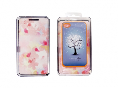 Sublimation iPhone 4 / 4s Cover Box (Plastic, Clear)
