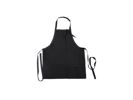 Sublimation Black Adult Apron